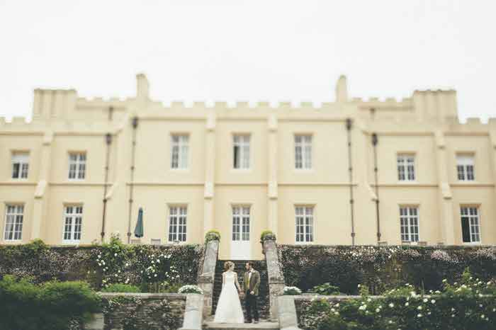 The Elegant Bride - a wedding fair at Pentillie Castle