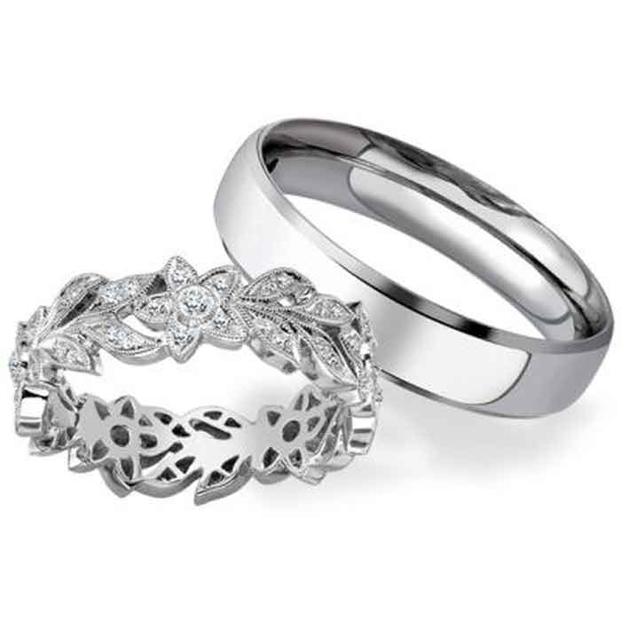 20% off wedding and eternity rings at Phillip Stoner