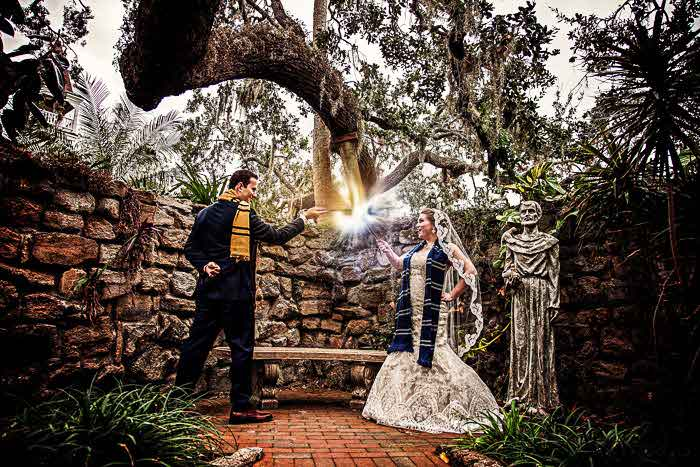 How to fulfil a magical Harry Potter wedding theme