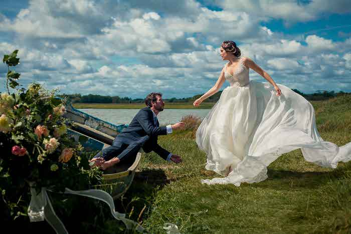 A rustic and historic wedding shoot in Dorset