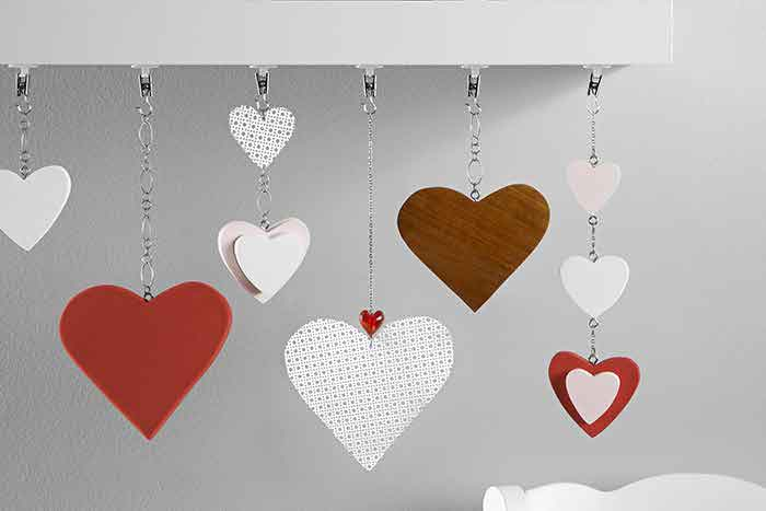 Wedding decorations ideas and tips bride take a look at this tutorial for creating a diy heart garland using dremel read full story wedding decorations junglespirit Gallery
