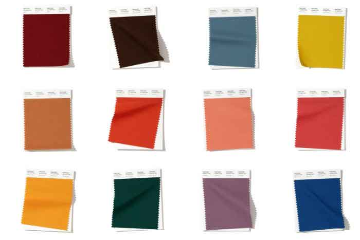 The trending colours for iAutumni Winter 2020 2020 weddings