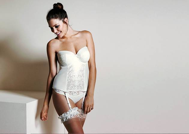 36f6cd180 When it comes to choosing your bridal lingerie there s a battle between the  sensual look you want for the wedding night ...