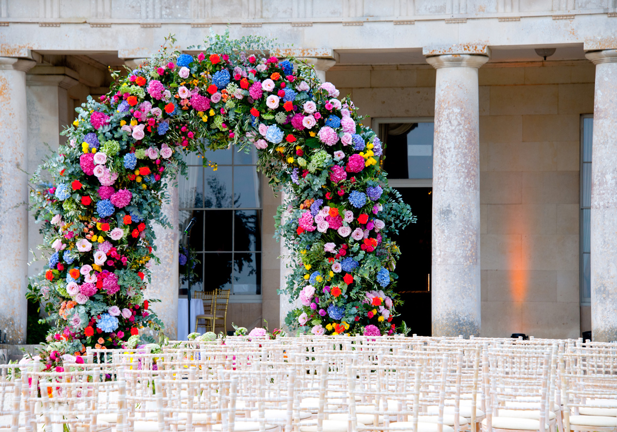 flowers for wedding arch top 5 creative floral decoration placements 4269