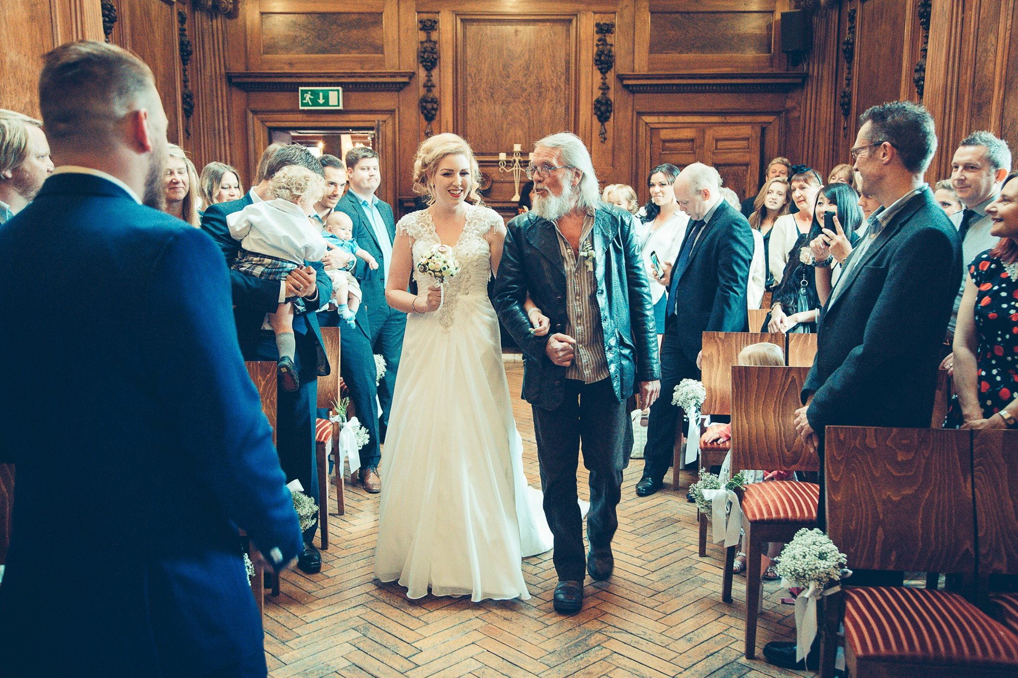 great-gatsby-norfolk-wedding-ceremony-bride-and-father