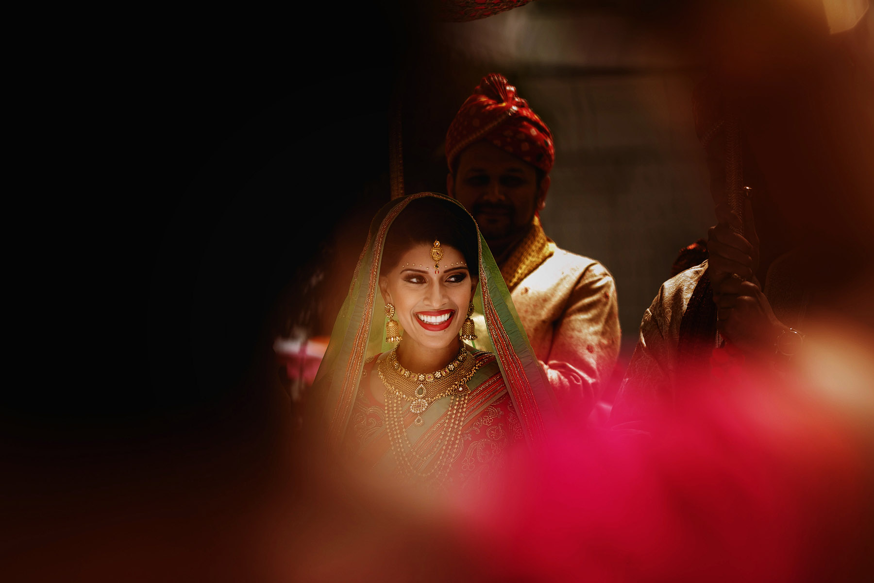 smiling-bride-ready-for-her-wedding-by-rahul-khona