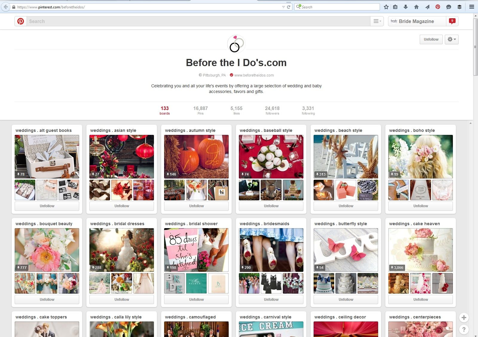 The 10 Pinterest Boards Every Bride Must Follow