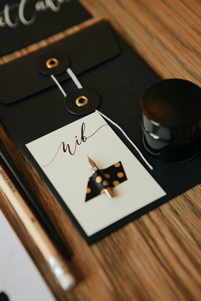 ... to Create Beautiful Stationery Youself on Modern Calligraphy Workshop