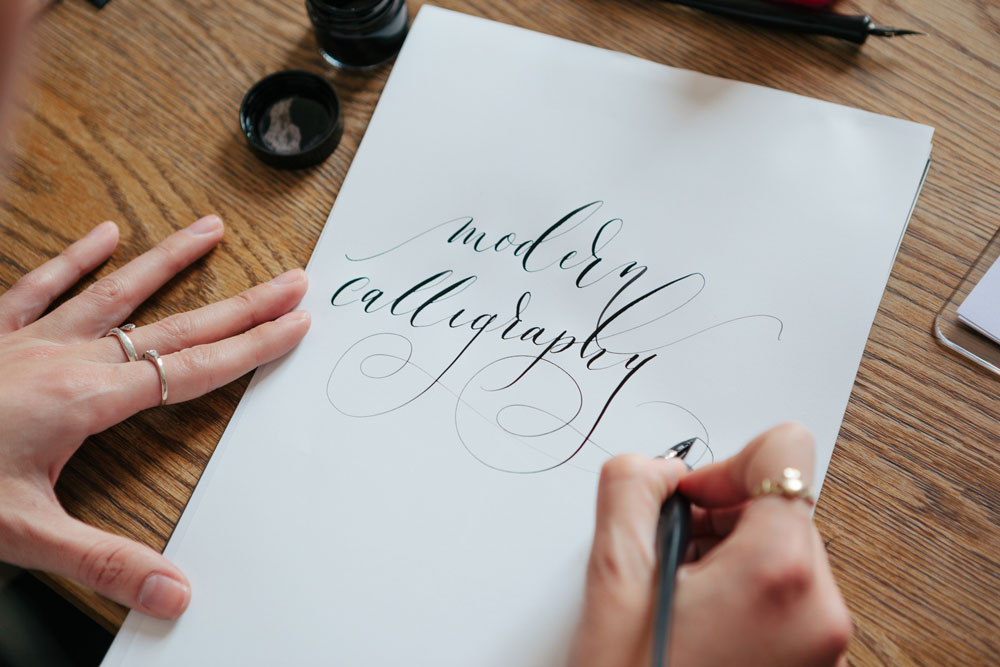 Learn to create beautiful stationery youself on modern