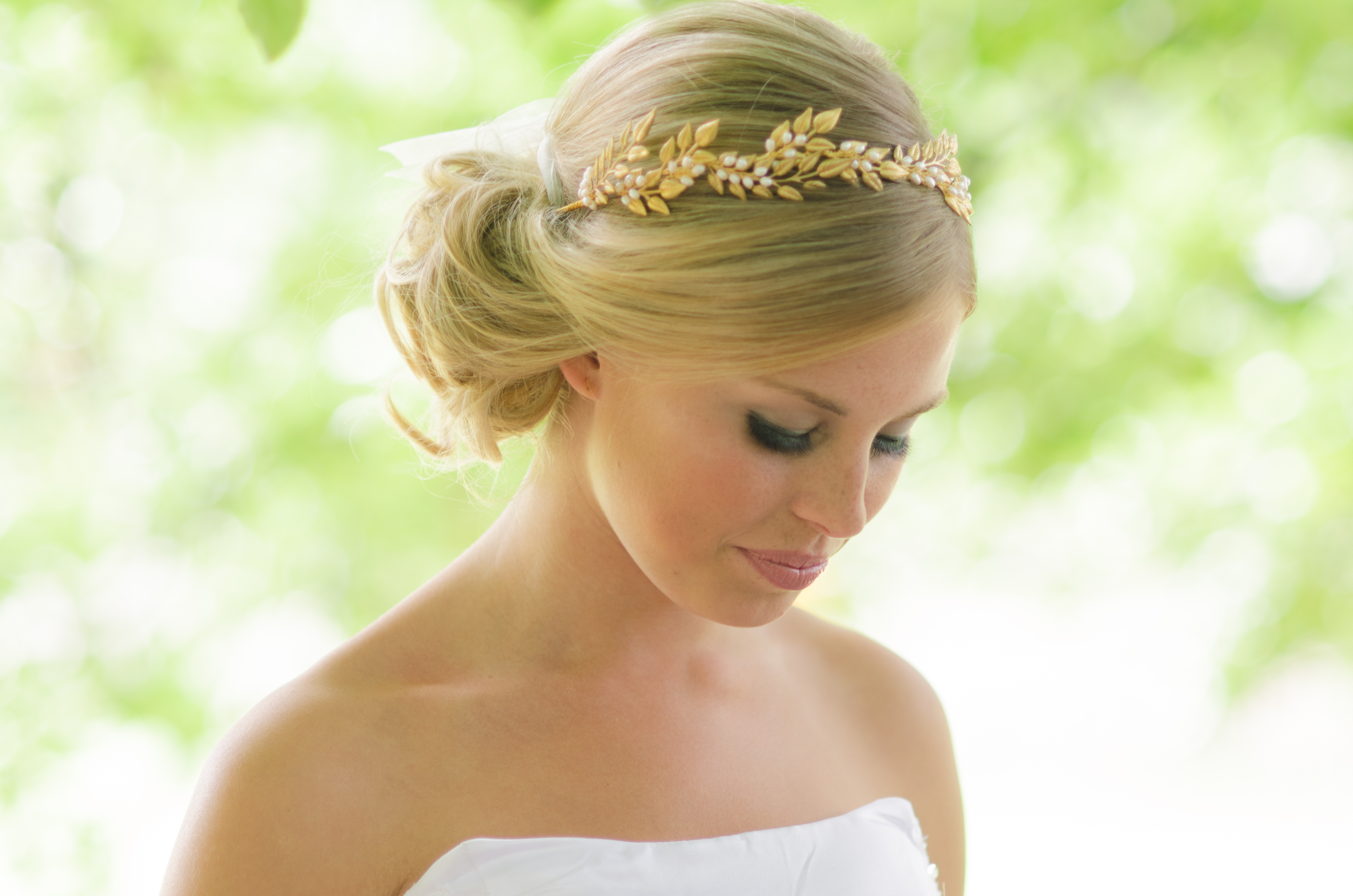 five jewelled halos to complete the perfect wedding hairstyle