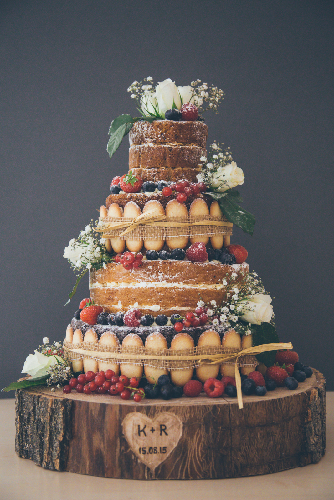 Cake Design Bakery : Six Naked Wedding Cake Ideas