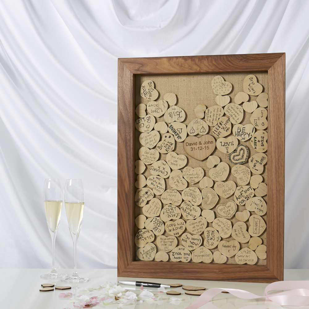 Wedding Guest Signature Ideas: Four Alternative Wedding Guestbooks To Treasure Forever