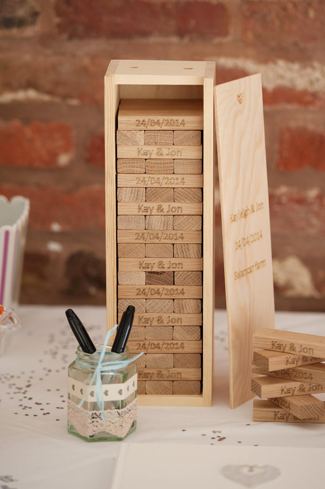 four alternative wedding guestbooks to treasure forever
