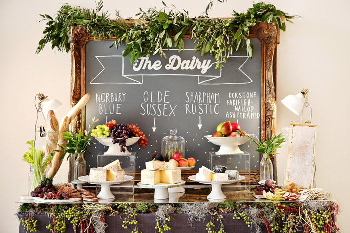 How To Create Your Own Wedding Food Bar