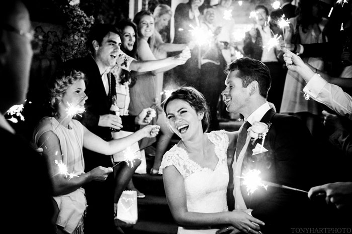 The Professional Spectator Behind Lens With Hampshire Wedding