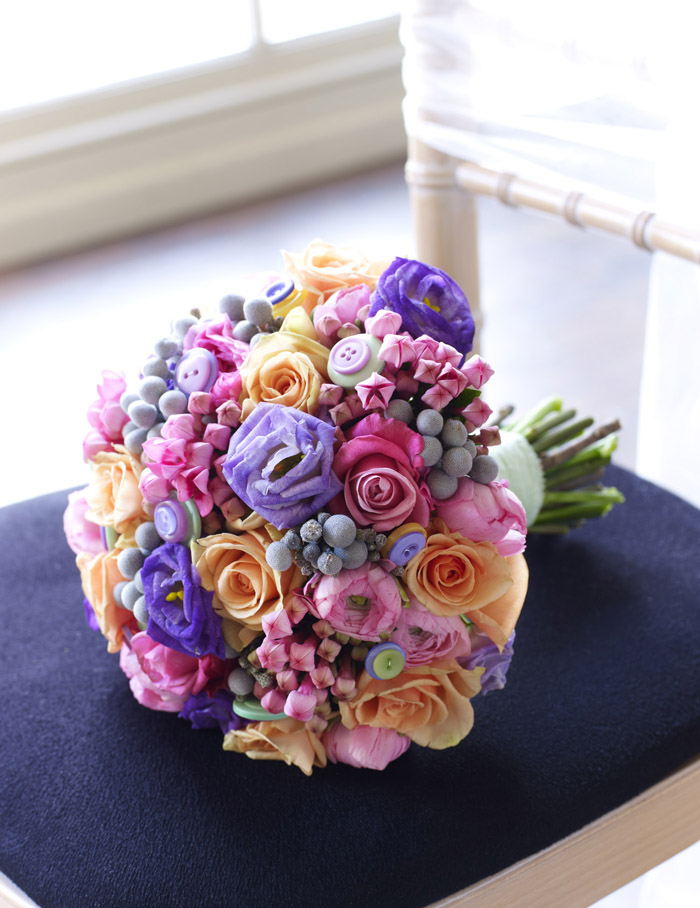 Five Beautiful Flowers for your Wedding Bouquet