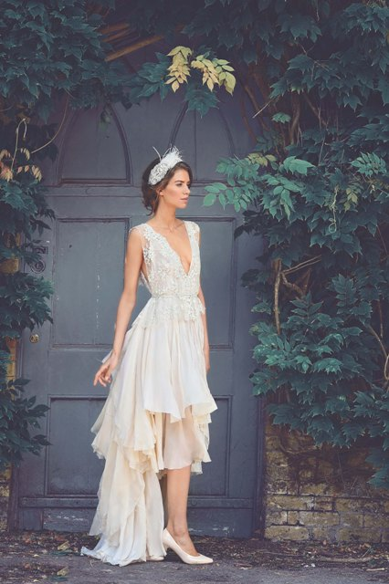 Five Showstopping Short Wedding Dresses