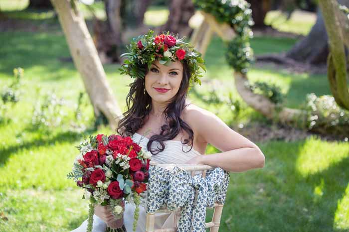 A Snow White bridal shoot in Hampshire