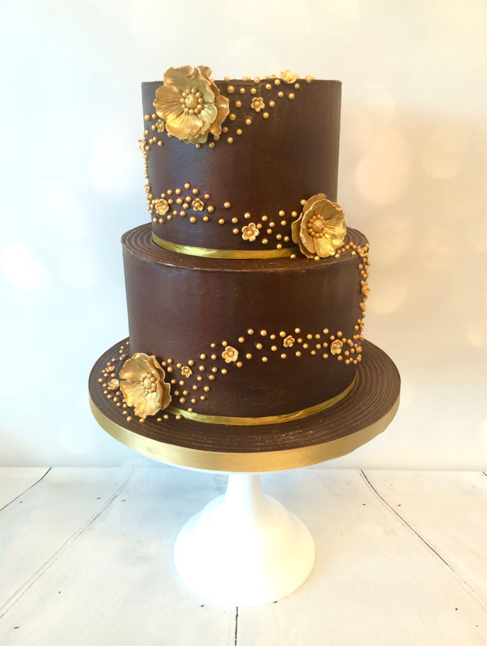 2 tier chocolate wedding cake recipe 12 chocolate wedding cakes 10119