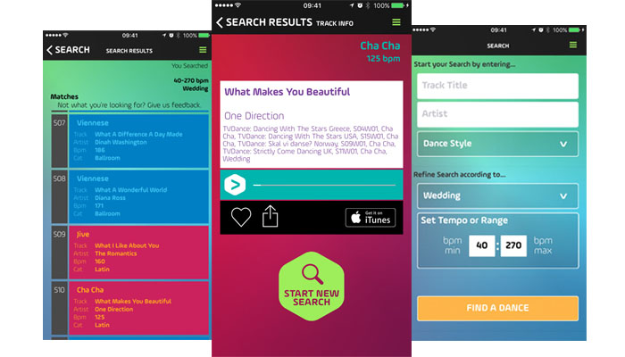 DancePicker app helps couples choose first dance song