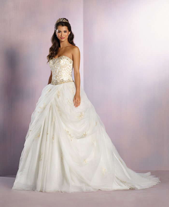 Alfred Angelo Wedding Dress: Have You Seen The Alfred Angelo Disney Collection?