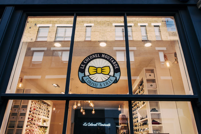 248277542f45 Le Colonel Moutarde opens UK bow tie store
