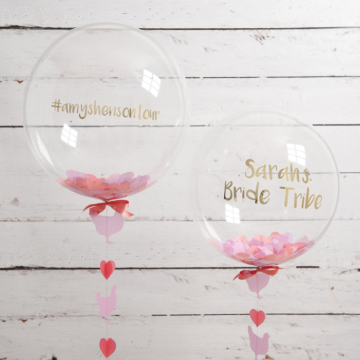 Afternoon Tea Hen Party Ideas: Get Hen Party Ready With Bubblegum Balloons