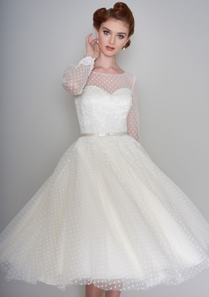 Wedding dress inspiration from bridal boutiques in norfolk for Wedding dresses pin up style