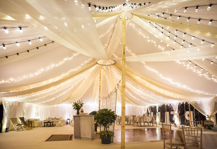 10 marquee wedding decor ideas 1