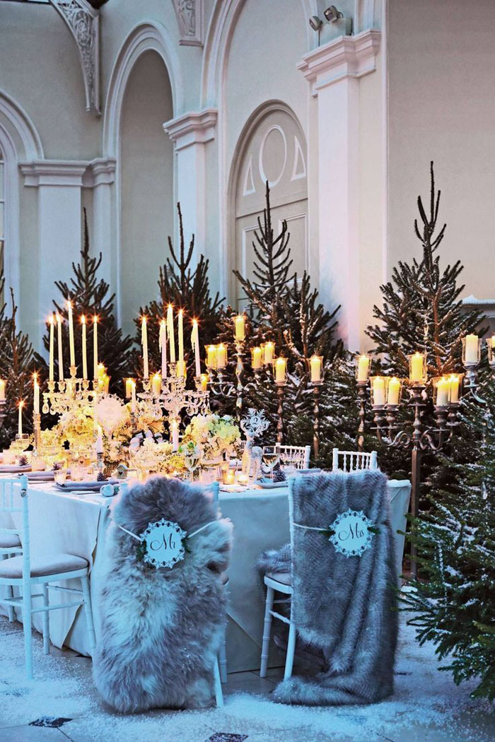 How To Style A Narnia Inspired Wedding