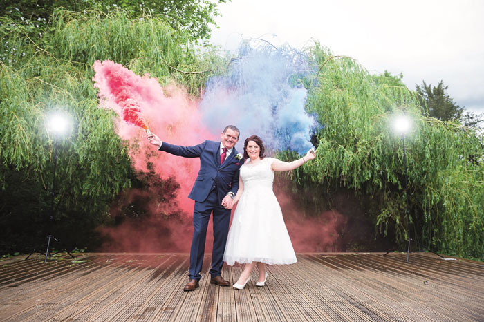 The wedding video of Rachael Franklin and Michael Price