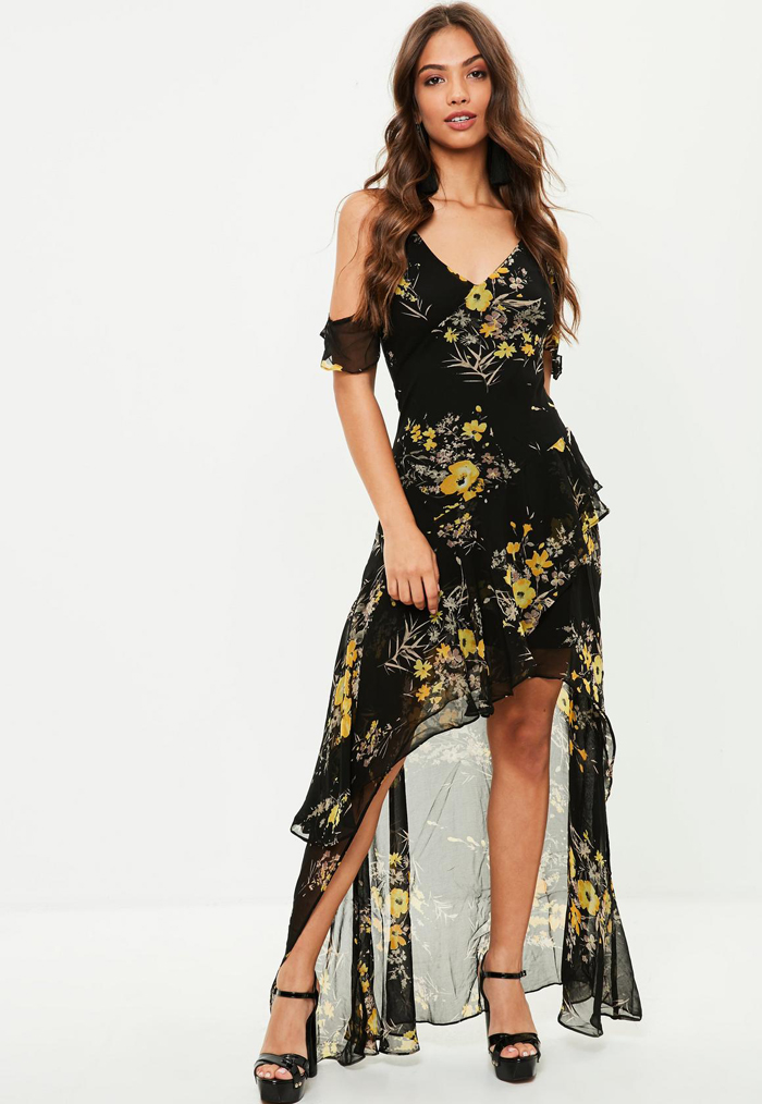 10 Floral Dresses For Spring Wedding Guests