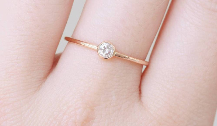 dainty and demure engagement ring ideas
