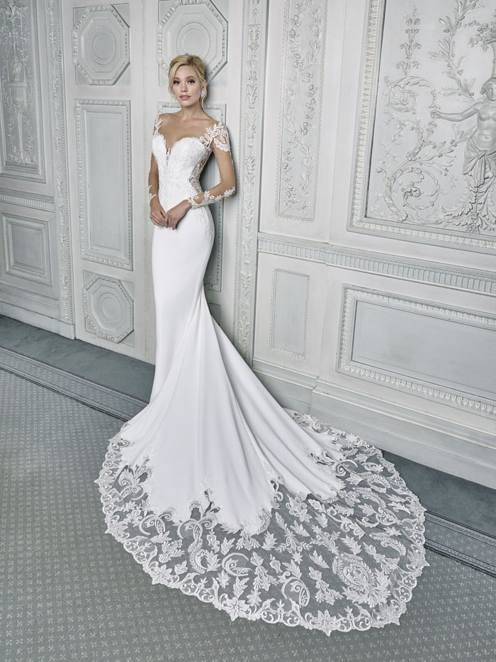 18115 Wedding Dress From Ellis Bridals Hitched Co Uk