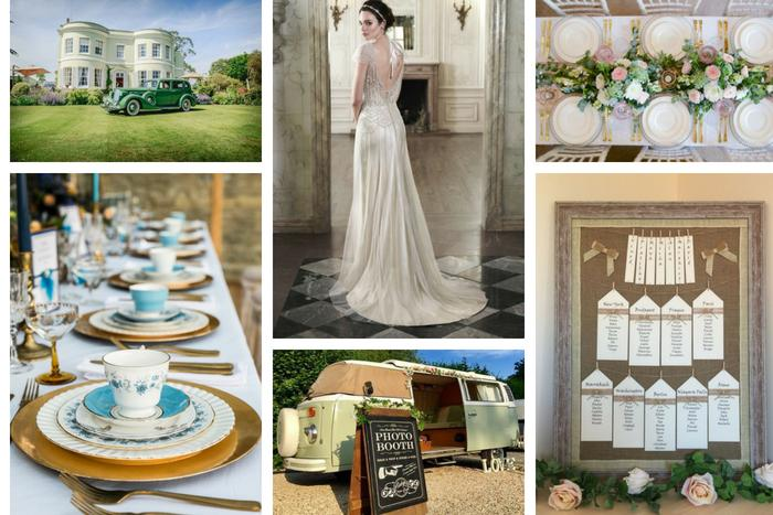 Vintage Wedding Ideas In The South West