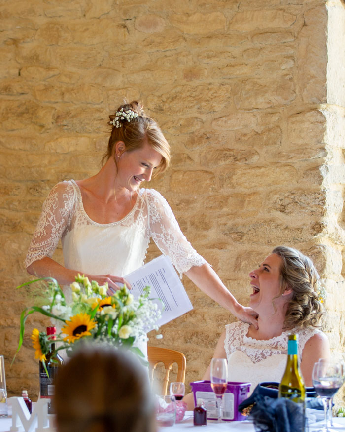 Wedding Of The Week: Leah Thompson And Grace Irvine