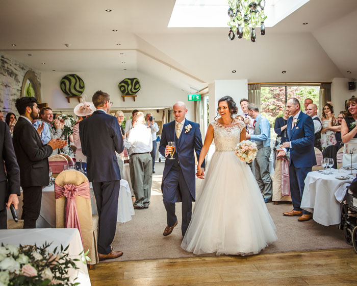 Wedding Of The Week Hannah Nicholson And Andrew Kelly