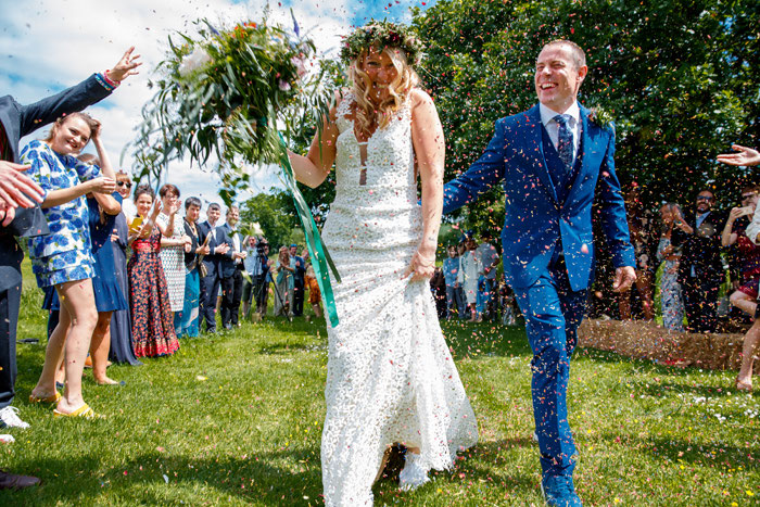 5f7c66d083d2 Leilah Cooling and Nick Parkinson  a DIY wedding with a festival vibe