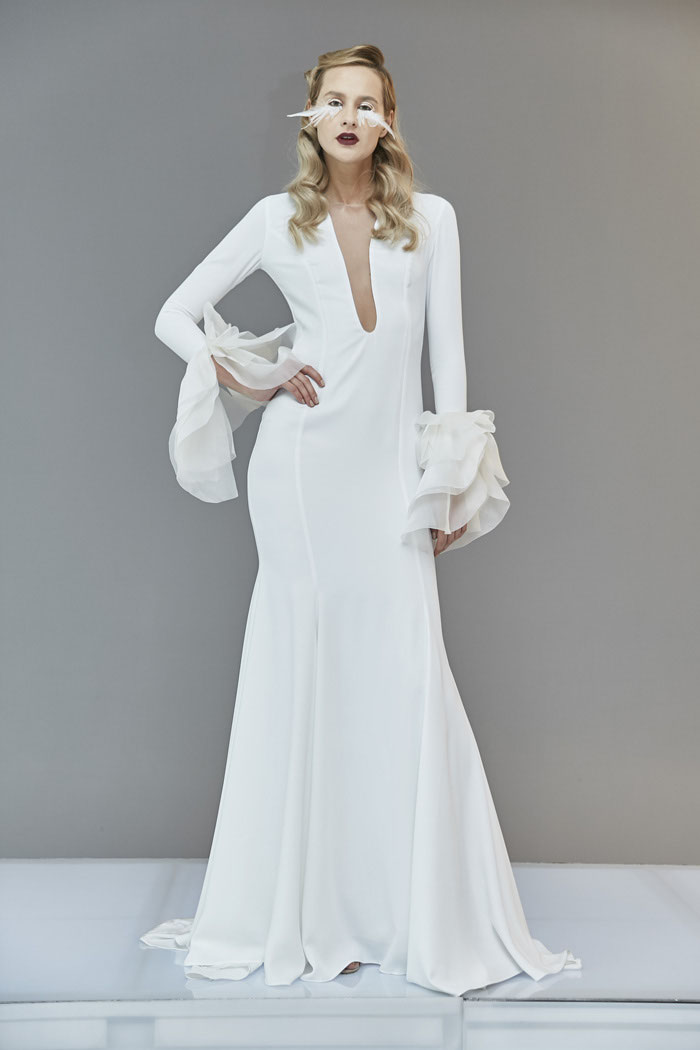 646984081d57 PREVIEW: Francesca Miranda Bridal Collection Spring 2020