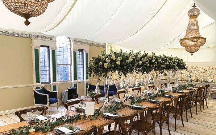 The top five trends in outdoor weddings and events for