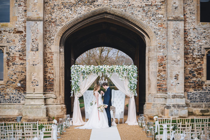 an-outdoor-fairytale-wedding-shoot-at-pentney-abbey-2