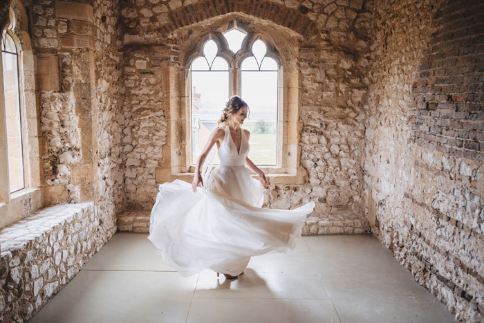 an-outdoor-fairytale-wedding-shoot-at-pentney-abbey-14