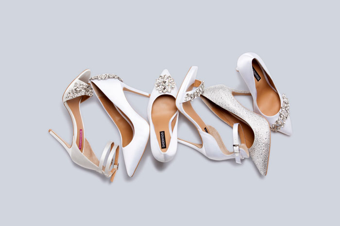 Design your own bridal shoes with