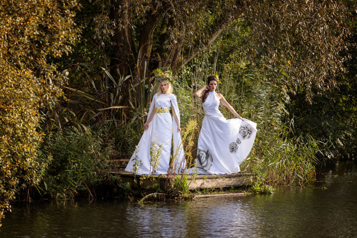 A Nature Inspired Bridal Shoot In Dorset