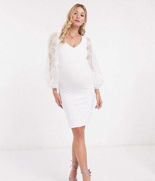 31-fabulous-maternity-wedding-dresses-2020-5