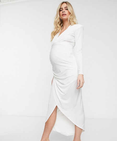 31-fabulous-maternity-wedding-dresses-2020-16