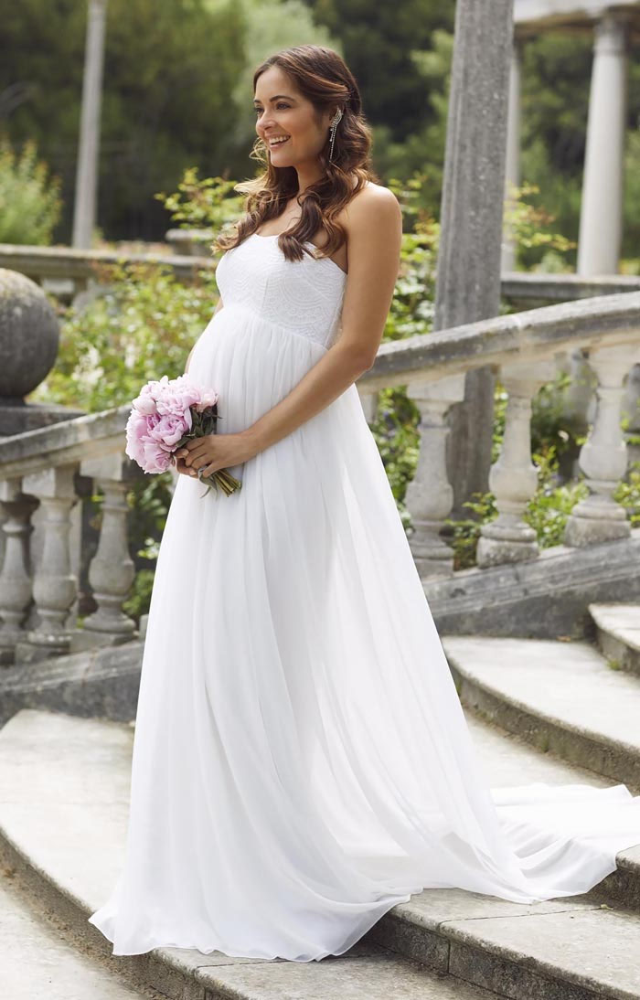 31-fabulous-maternity-wedding-dresses-2020-39