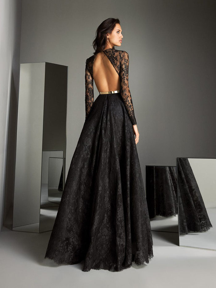 20 Black Wedding Dresses From 2020 Collections