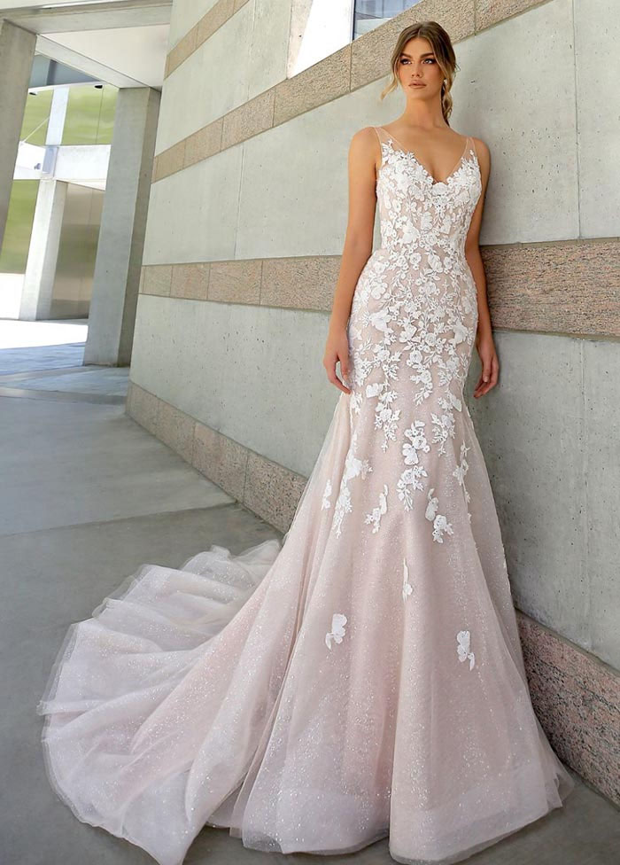 21-pink-wedding-dresses-2021-collections-4