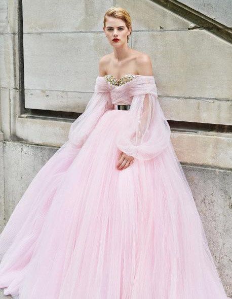 21-pink-wedding-dresses-2021-collections-8
